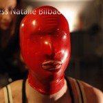 Privación sensorial, bizarre, mascara de latex